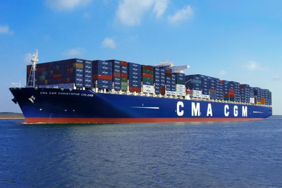 CMA CGM Christophe Colomb - copyright CMA CGM