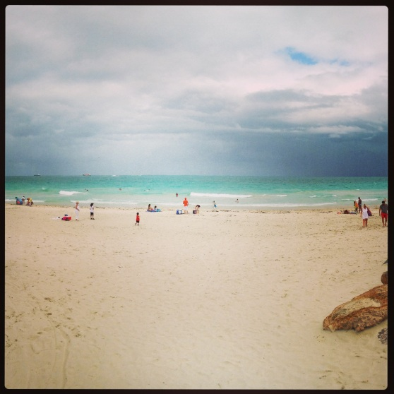 plage de Miami Beach (south pointe)