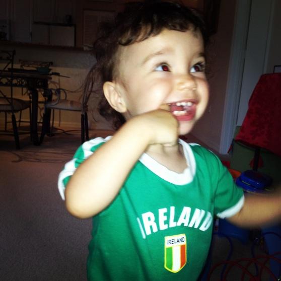 On parle anglais en Irelande!