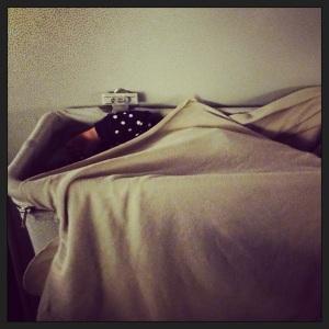 Victoire: dormir dans un carton