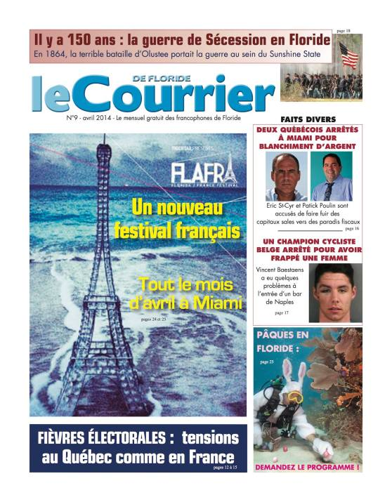Le Courrier de Floride Avril 2014