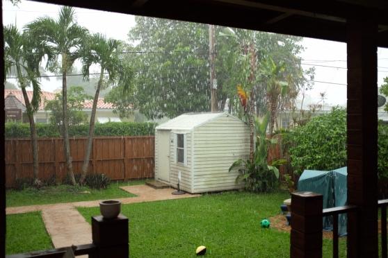 Il pleut sur Miami