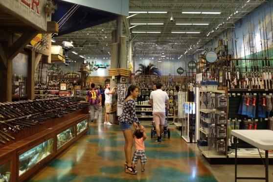 Bass Pro Shops, un lieu touristique a lui seul